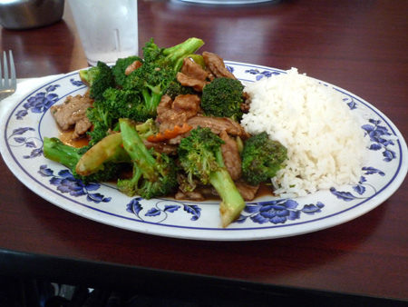beef with brocolli