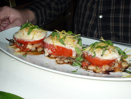 glorified Caprese salad