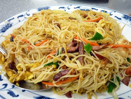 Shanghai rice noodles